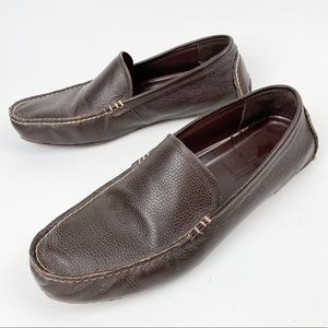 Leather Driving Moccasins Banana Republic 12 R401